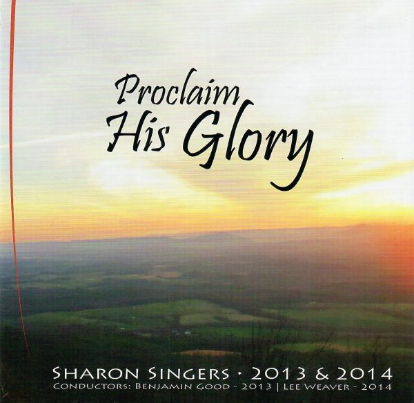 proclaim his glory 1